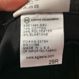 Ag Adriano Goldschmied Jeans - NWOT AG Denim The Moto Legging Jean